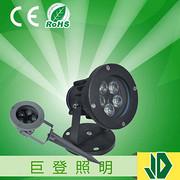 现代户外LED大功率5w地插灯