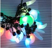 丰吉现代玻璃/塑料月亮串灯圣诞装饰灯饰