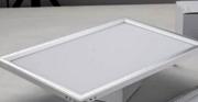 简约亚克力室内智能白色正方形面板灯