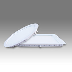 帆高铝合金框室内商业照明白色LED面板灯