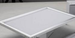简约室内智能白色正方形LED面板灯