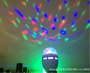 现代室内LED水晶七彩旋转舞台灯