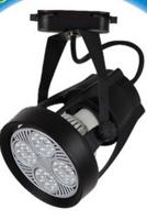 简约户外智能黑色LED导轨灯