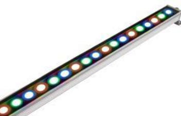 简约户外智能LED洗墙灯
