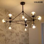 欧尼雅北欧风格吊灯创意魔豆个性后现代简约客厅灯具餐厅卧室房间玻璃球