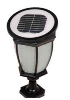 现代简约防水智能LED太阳能灯