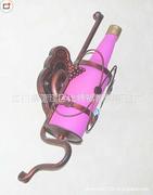 荆江简约欧式复古创意啤酒瓶壁灯