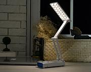优乐明创意镜子智能护眼冷暖双色锂电替换台灯