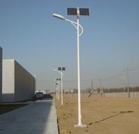 双子星A字臂路灯 LED广场灯户外5米6米7米路灯杆 新农村景观高杆灯