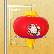 真美丽喜庆中式印花防水亚克力LED灯笼灯