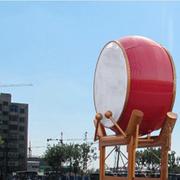 真美丽喜庆中式带显示屏广场专用落地鼓灯