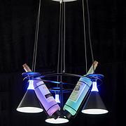 法加丽创意铁艺餐吊灯现代简约啤酒瓶吊灯