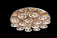 法加丽现代简约铝材亚克力室内照明水晶灯