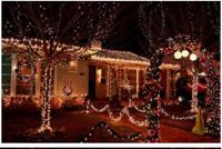 简约户外智能LED圣诞灯