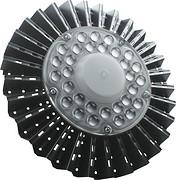 现代黑色鳍片工矿灯