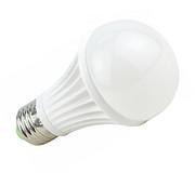 莱喜led灯泡E27螺口3W/5W/9W球泡白光黄光节能光源螺旋高亮