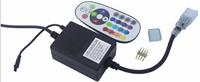 现代简约黑色LED遥控控制器