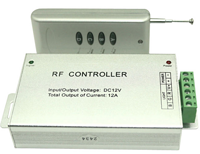 现代简约低压12V四键LED无线遥控控制器