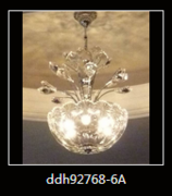 新式现代蜡烛客厅水晶灯