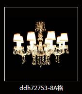 欧式优雅暖光蜡烛室内水晶灯