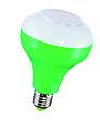 白、红、绿、黄5W蓝牙音乐灯泡+照明