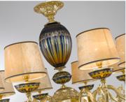 La意大利现代进口法式全铜吊灯