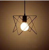 个性三头工业风LED书房吊灯