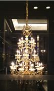 雷力现代欧式吊灯水晶灯