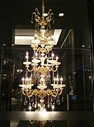 雷力现代欧式室内吊灯水晶灯