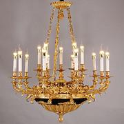 玛莎蒂罗61102-10+5开1法式全筒灯吊灯