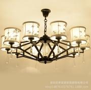 新中式创意复古客厅吊灯
