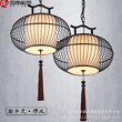 新中式现代铁艺茶楼吊灯