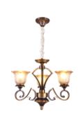 卡迈奇现代咖啡色MD6014-3吊灯