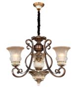 卡迈奇现代陶瓷白MD9017-3吊灯