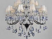 美洛尼现代室内玻璃钢材吊灯