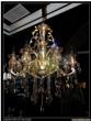 美洛尼现代室内镀金玻璃吊灯