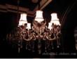 美洛尼现代室内镀金水晶吊灯