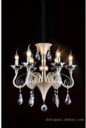 美洛尼现代室内白色蜡烛灯吊灯