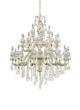 美洛尼现代室内白色水晶吊灯