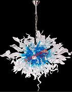 博思西梦BS-D8003艺术异型玻璃后现代灯吊灯