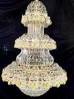 摩尔阁灯饰现代奢华复式楼客厅大吊灯楼中楼长吊灯