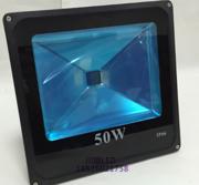 现代简约铝合金50W一体四方灯薄料投光灯外壳
