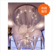 现代水晶花型室内吸顶灯