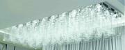 现代简约白光玻璃吸顶灯