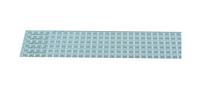 简约浅蓝LED日光灯铝基板