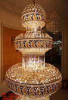 谛诺斯现代轻奢楼梯吊灯旋转楼梯灯长吊灯别墅复式楼阁楼水晶大吊灯具