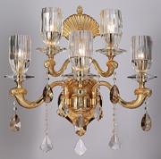 金丰美现代室内欧式水晶88801-5莹壁灯