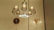 卡尔斯特现代室内玻璃镀金吊灯