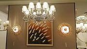 卡尔斯特现代室内酒店白色吊灯