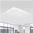 潮灯馆 个性led吸顶灯客厅灯卧室灯吸顶灯正方形长方形 书房办公